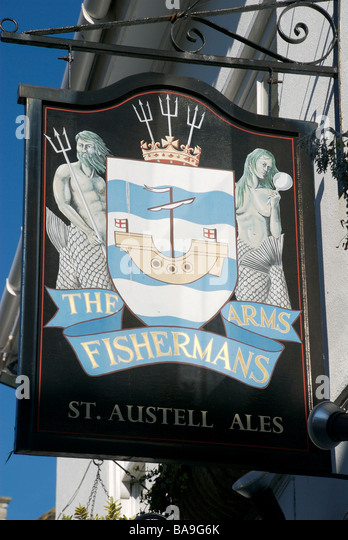 The Fishermans Arms pub, Barbican district, Plymouth, Devon, UK - Stock Image