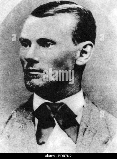 Jesse James, American outlaw, c1869-1882 (1954). - Stock Image