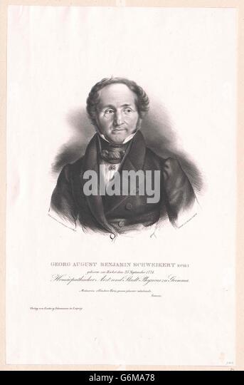 Schweikert, Georg August Benjamin - Stock Image