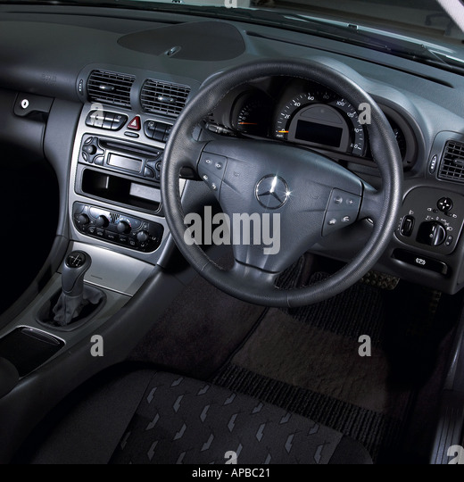 Interior Mercedes Not People Not Inside Stock Photos