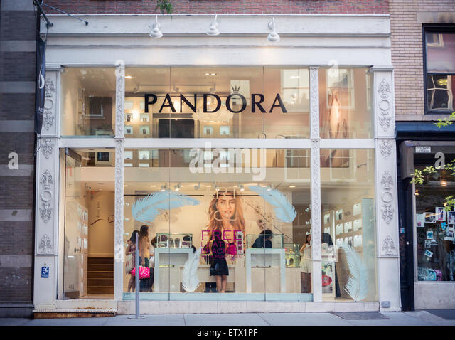 Pandora stock photos pandora stock images alamy for Jewelry stores in new york ny