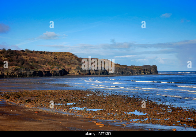Sandsend Near Whitby Stock Photos Amp Sandsend Near Whitby