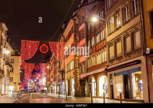 Strasbourg winter stock photos strasbourg winter stock for Rue du miroir strasbourg
