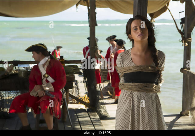CROSSBONES  2014 Universal Television  series with Claire Foy - Stock-Bilder