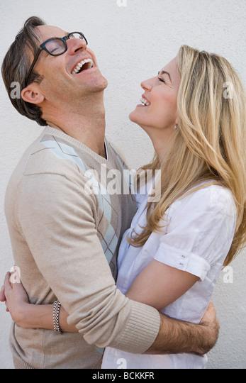 Happy couple - Stock Image