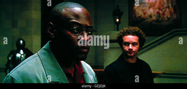 Omar Epps, Danny Masterson *** Local Caption *** 2000, Wes Craven's Dracula, Wes Craven Praesentiert Dracula - Stock Image