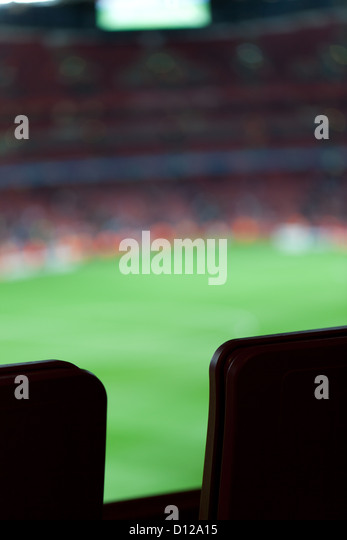 Sports stadium - Stock Image