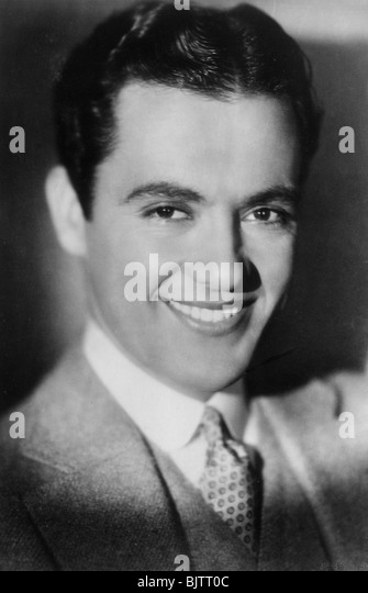 Charles Rogers (1904-1999), American actor and jazz musician, 20th century. - Stock Image
