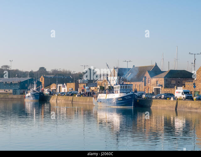 Howth  harbour - Dublin, Ireland - Stock Image