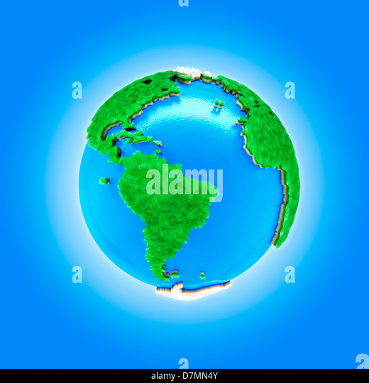 Earth, artwork - Stock Image