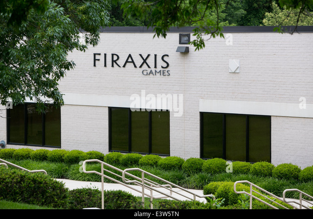 The headquarters of video game maker Firaxis Games in Sparks, Maryland. - Stock Image