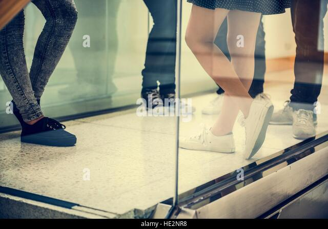 Fashion Lifestyle Friend Trendy Concept - Stock Image