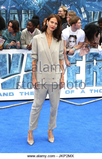 London, UK. 24th July, 2017. Aymeline Valade is among the stars in attendance at the European premiere of Valerian - Stock Image