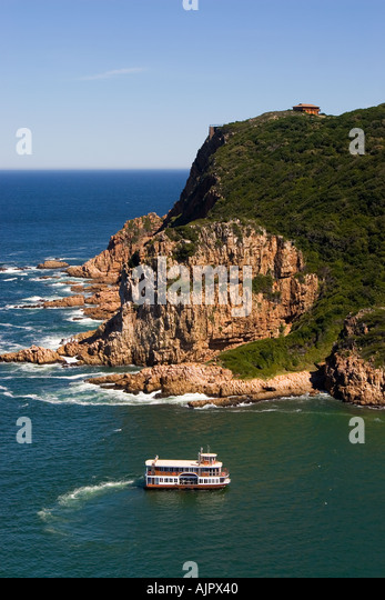 south africa garden route Knysna view point Knysna heads - Stock Image