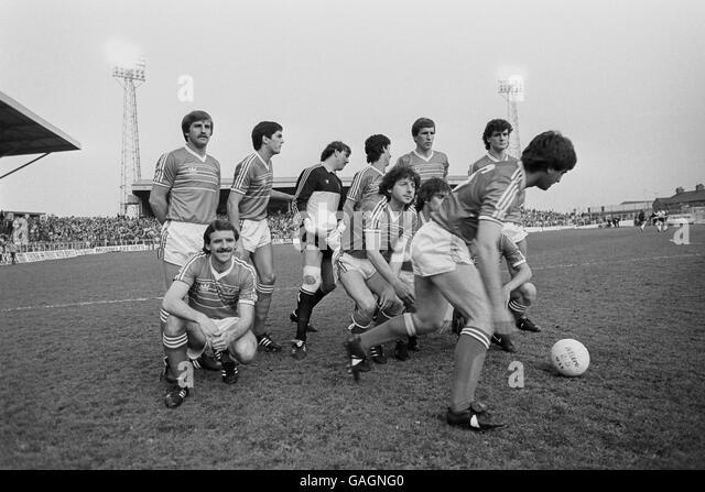 International Soccer - Wales v England - Wrexham - Stock Image