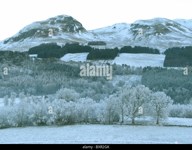 Dumgoyne hill The Campsies Blane Valley Stirlingshire Scotland - Stock Image