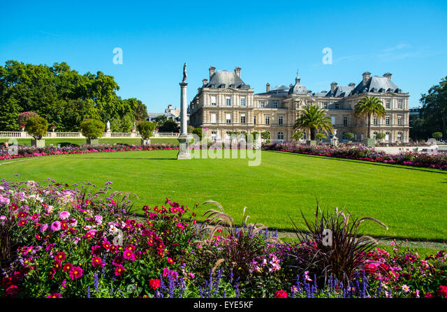 Luxembourg gardens paris france stock photos luxembourg for Le jardin luxembourg