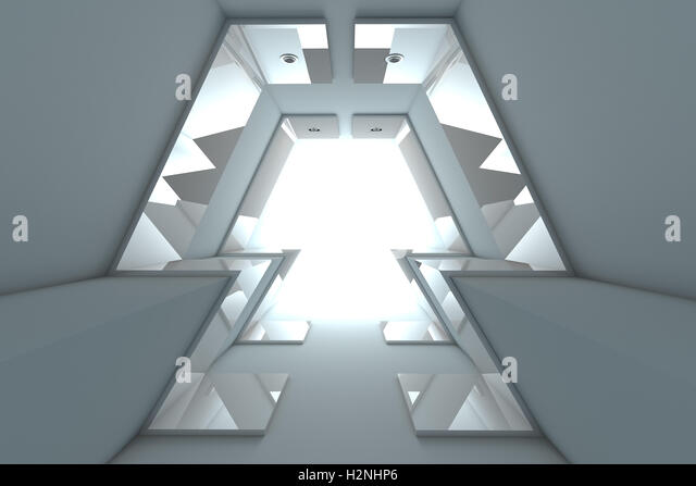 Abstract Empty Room - Stock Image