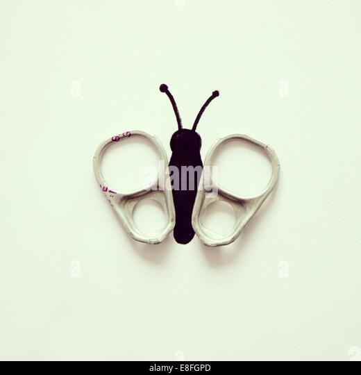 Conceptual butterfly - Stock Image