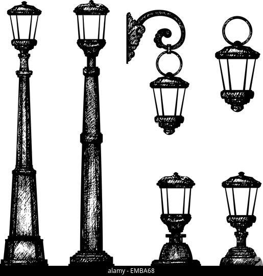 victorian lamp illustration stock photos  u0026 victorian lamp