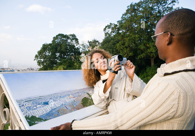 African couple - Stock-Bilder