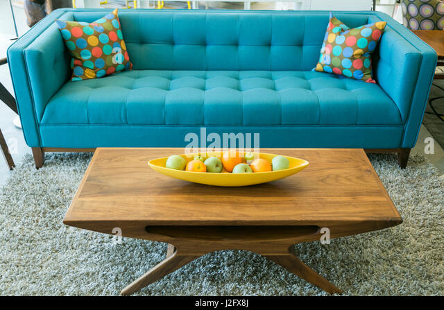 Mid century furniture design stock photos mid century for Mid century modern furniture palm springs
