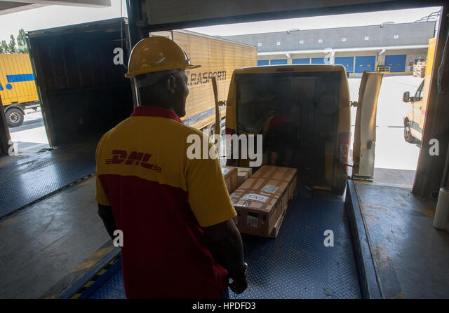 Dhl Package Stock Photos Amp Dhl Package Stock Images Alamy