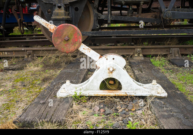 Change Lever For Trains : Lever operated stock photos images