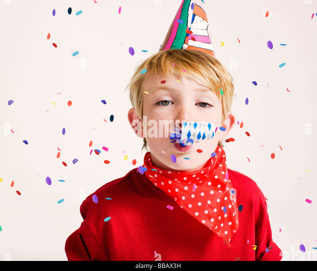 Party Blower: Party Blower Stock Photos & Party Blower Stock Images
