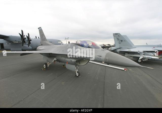 USA Air Force Lockheed F-16CJ Fighting Falcon - Stock Image