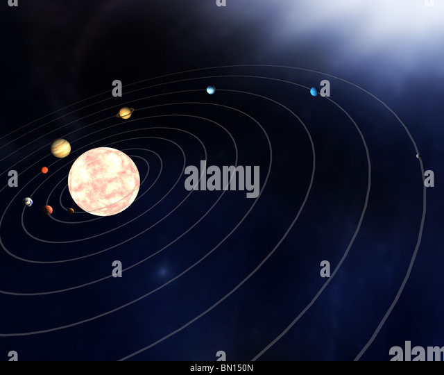 Images Of The Seven Planets Diagram Spacehero