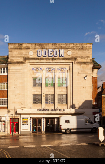 Odeon Cinema in Richmond Upon Thames,Greater London,England - Stock Image