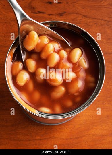 Baked beans - Stock-Bilder