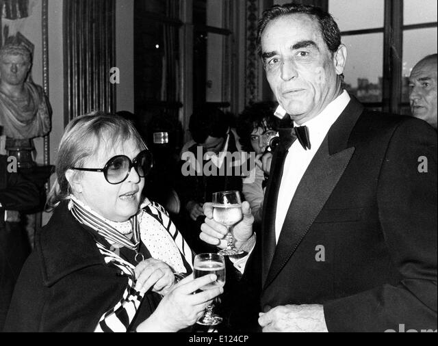 Italian actress LAURA BETTI with VITTORIO GASSMAN - Stock Image