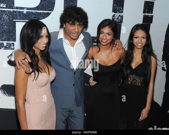 M Night Shyamalan Family Bhavna Vaswani Stock P...