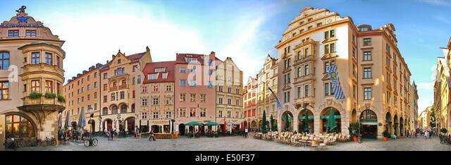 Munich hofbreuhaus - Stock Image