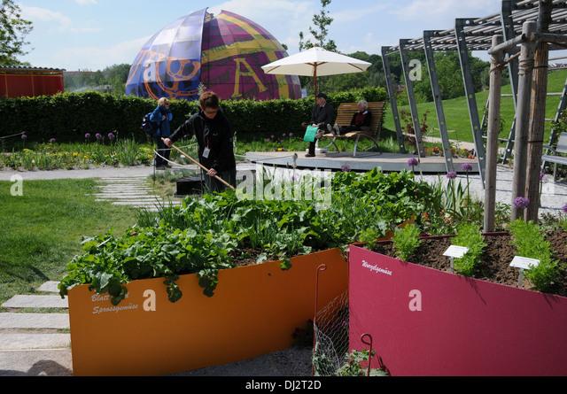 Garden Exposition - Stock Image