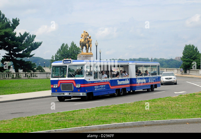 Washington, D.C., Tourmobile - Stock Image