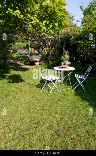 English garden - Stock Image