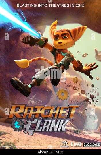 RATCHET POSTER RATCHET AND CLANK (2015) - Stock Image