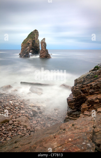 Crohy head arch, Donegal, Ireland. - Stock-Bilder