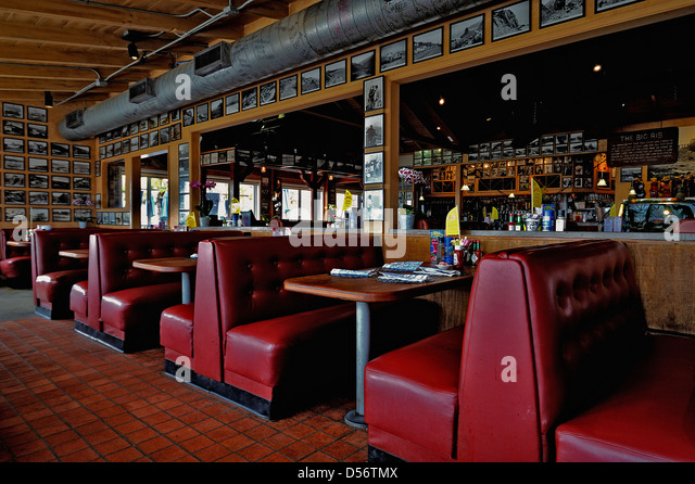 american diner interior stock photos american diner. Black Bedroom Furniture Sets. Home Design Ideas