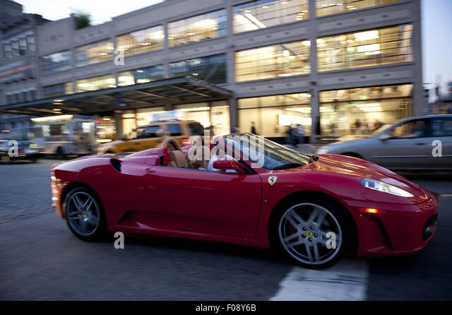 Ferrari And New York Stock Photos Amp Ferrari And New York Stock Images Alamy