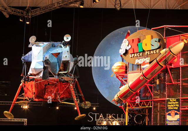 Space Center, Houston, Texas, United States of America, North America - Stock Image