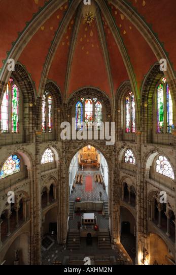 Kirche von westen stock photos kirche von westen stock for Garage ad st gereon