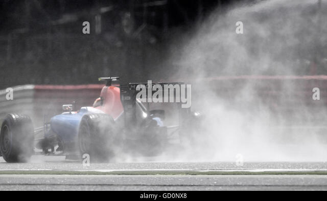 Silverstone, UK. 10th July, 2016. British F1 Grand Prix at Silverstone UK Race Credit:  Leo Mason/Alamy Live News - Stock Image