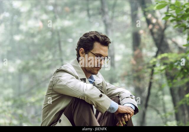 MATTHEW MCCONAUGHEY THE SEA OF TREES (2015) - Stock Image