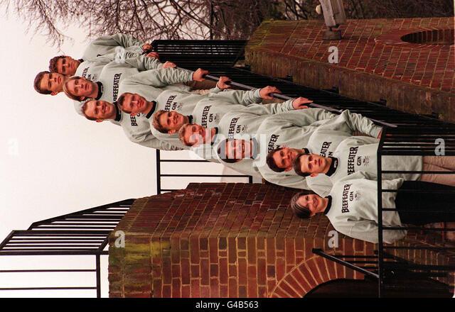ROWING Cambridge team - Stock Image