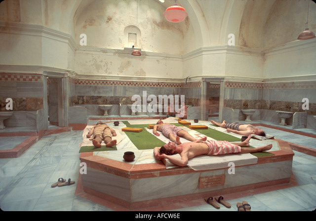 Turkey Istanbul Beyoglu Quarter Galatasaray Hamami public bath - Stock Image