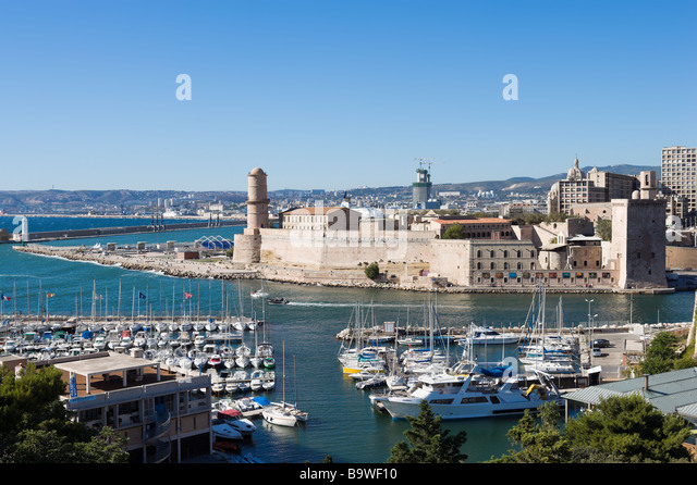 Marseille stock photos marseille stock images alamy - Parking vieux port fort saint jean marseille ...